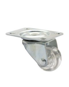 Swivel castor for furniture RO 2155