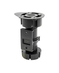 Adjustable foot for kitchen furniture ST 0415 - Set