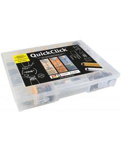 QuickClick Profi-Box QC 0101 – 432 Teile